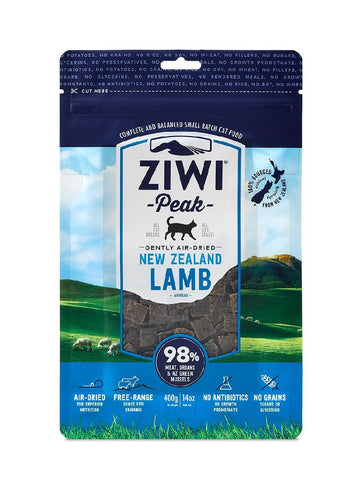 ZIWI PEAK AIR DRIED LAMB CAT FOOD 400G
