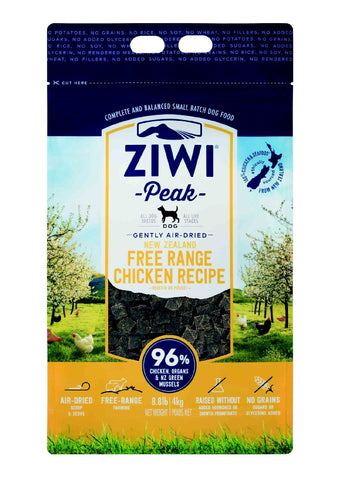 ZIWI PEAK AIR DRIED CHICKEN DOG FOOD 4KG