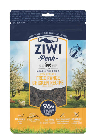 ZIWI PEAK AIR DRIED CHICKEN CAT FOOD 400G