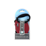 ADVENTURE RETRACTABLE LEAD X SMALL RED 3M