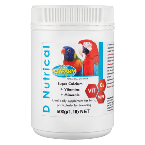 VETAFARM D'NUTRICAL POWDER 500G