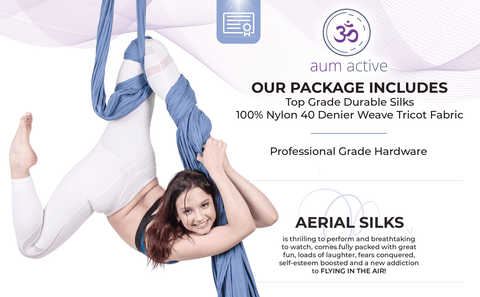 aerial silks professional studio quality