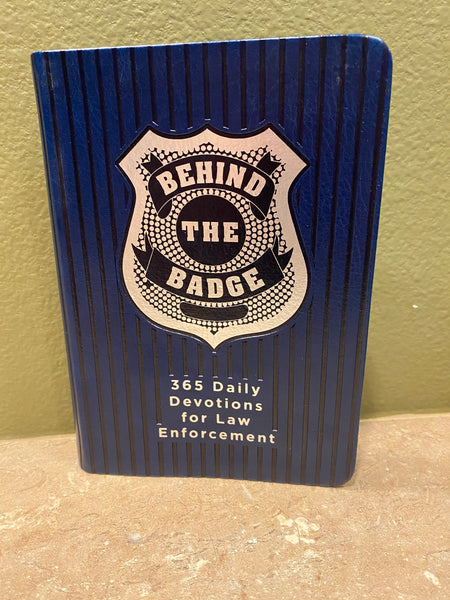 Behind the Badge 365 Daily Devotionals