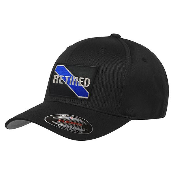 Thin Blue Line Retired Flex Fit Hat