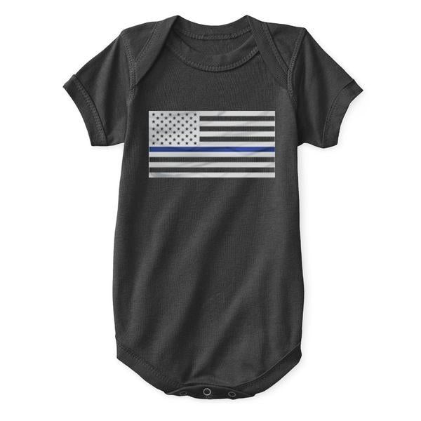 Thin Blue Line Onesie