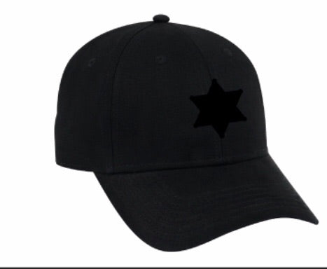 Sheriff Star Adjustable Baseball Hat
