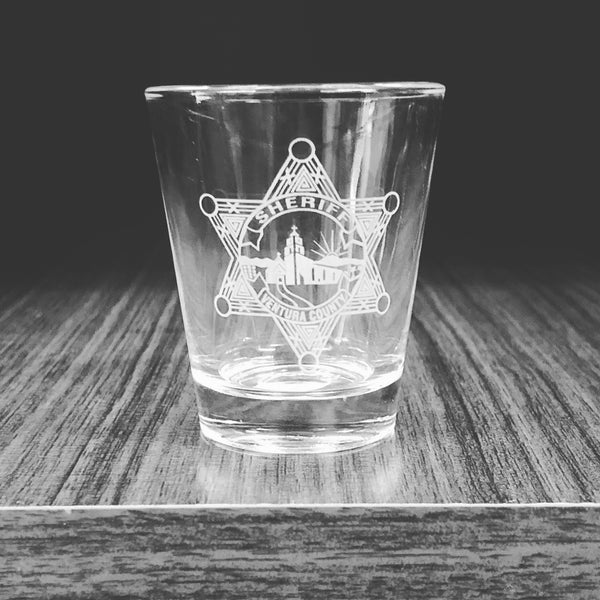 Shot Glass VCSO Star