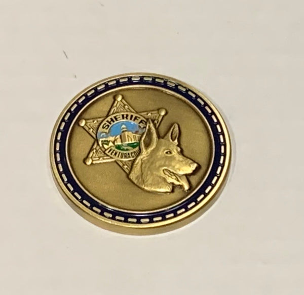 VCSO K9 Challenge Coin