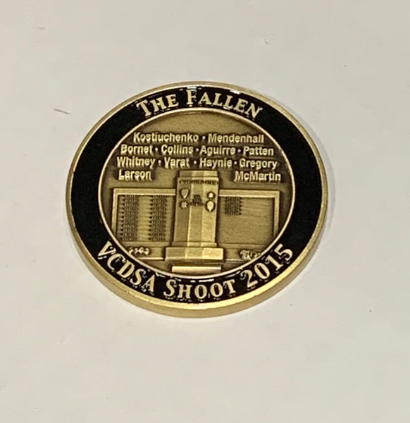 Challenge Coin 2015 VCDSA Annual Shoot