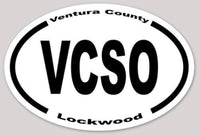 Stickers VCSO Oval Station