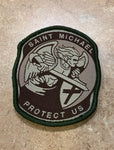 Patch Saint Michael Hook Velcro