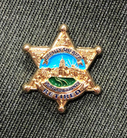 "Pin Ventura County Sheriff's Office Retired 1"" Star"