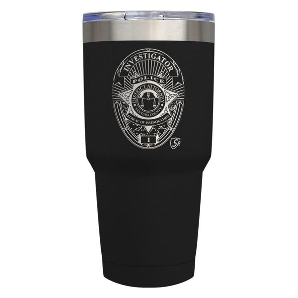 Tumbler District Attorney 30oz