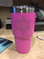 Tumbler Pink Ventura County Sheriff's Office