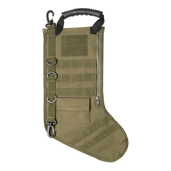 Molle Green Christmas Stocking