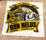 Ron Helus Fallen Angel Sticker