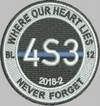 4Sam3 Where Our Heart Lies Academy Class 2018-2 Patch