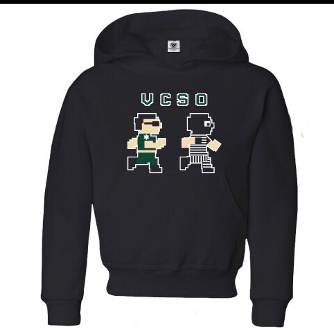 Minecraft VCSO Black Hoodie Youth