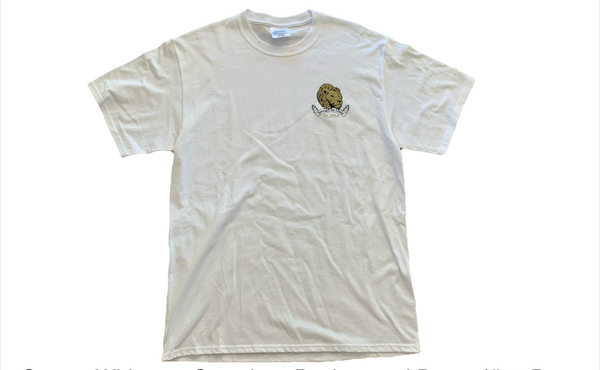 VCDSA logo White Shirt