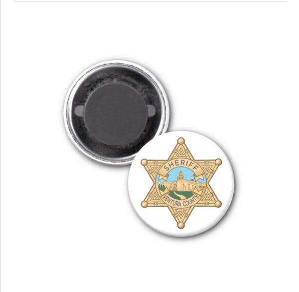 Magnet Ventura County Sheriff's Star