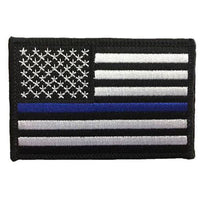 Thin Blue Line Velcro Patch