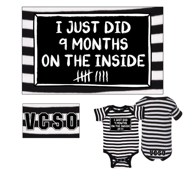 Jail House Toddler Onesie