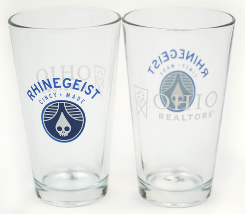 Rhinegeist Pint Glasses