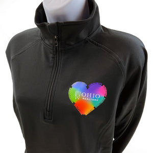 Ladies Lead with Heart 1/2 Zip Pullover