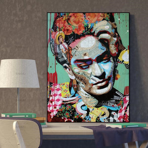 Balzanne Affiche Frida Kahlo Art Decoration