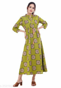 Fashionable Printed Rayon Kurti
