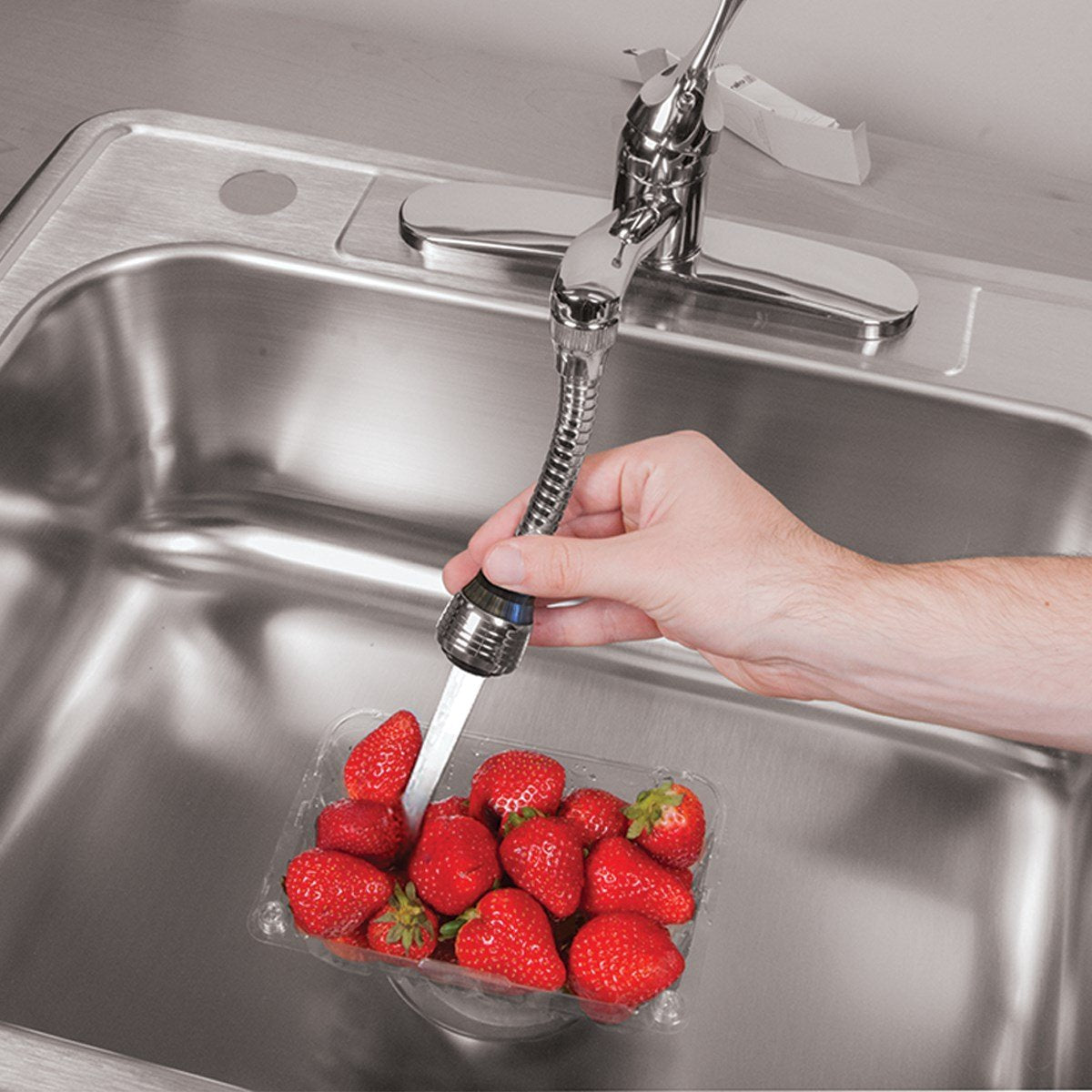 360 Degree Rotatable Stainless Steel Bubbler Saving Water Faucet