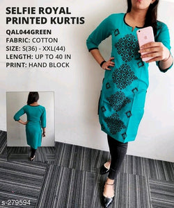 Stylish Light Green Designer Kurti