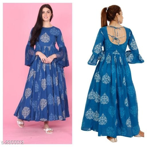 Myhra's Trendy Cotton Dresses