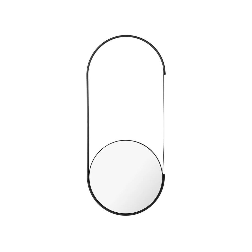 mobile mirror in black by Kristina Dam studio