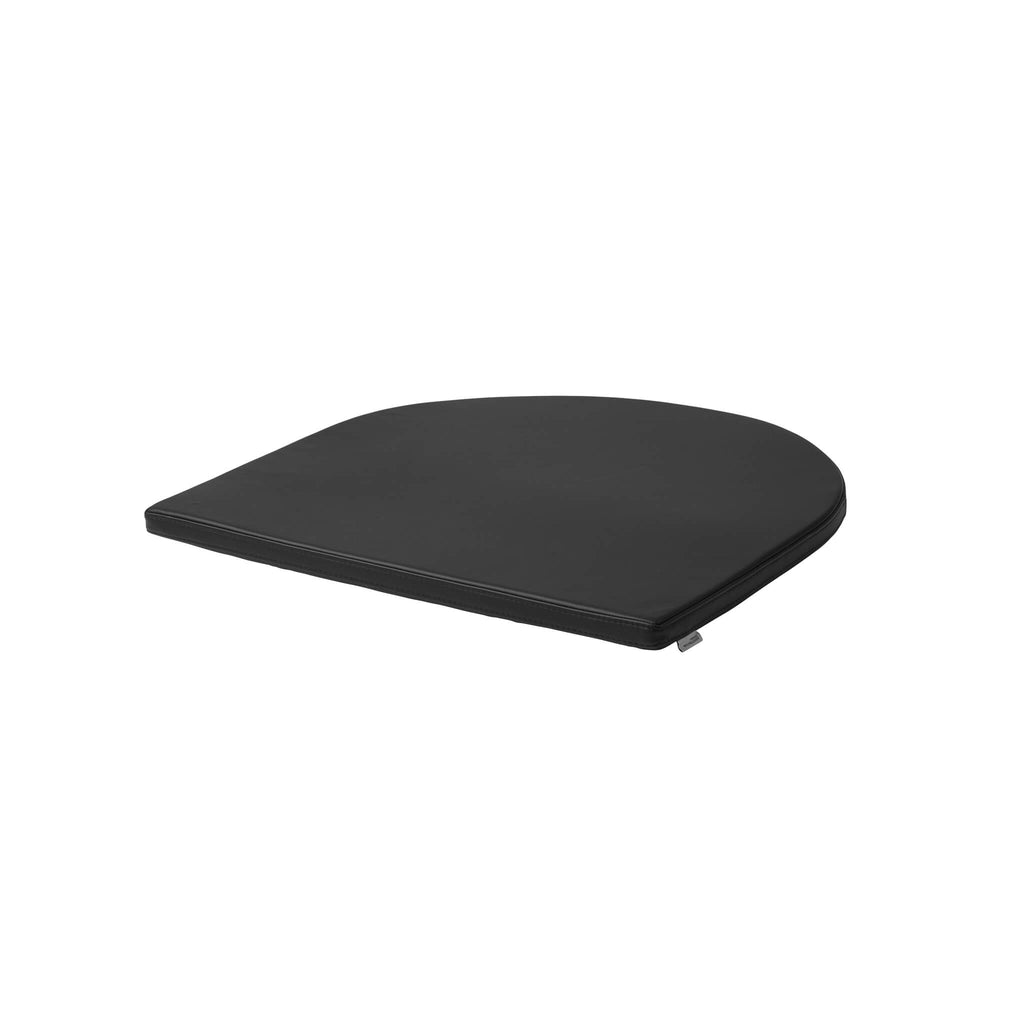 Bauhaus lounge chair seating cushion black kristina dam studio