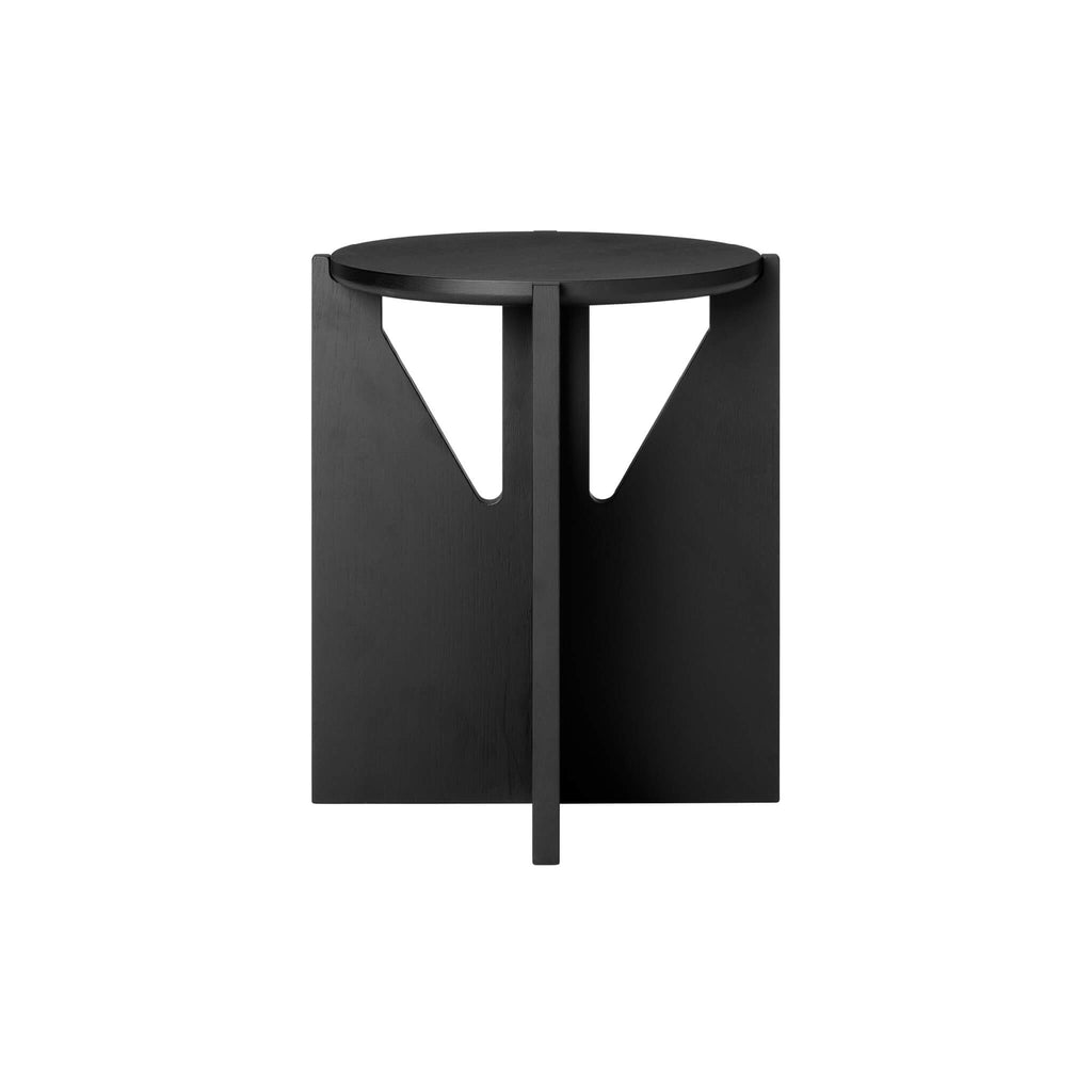 kristina dam studio stool black oak