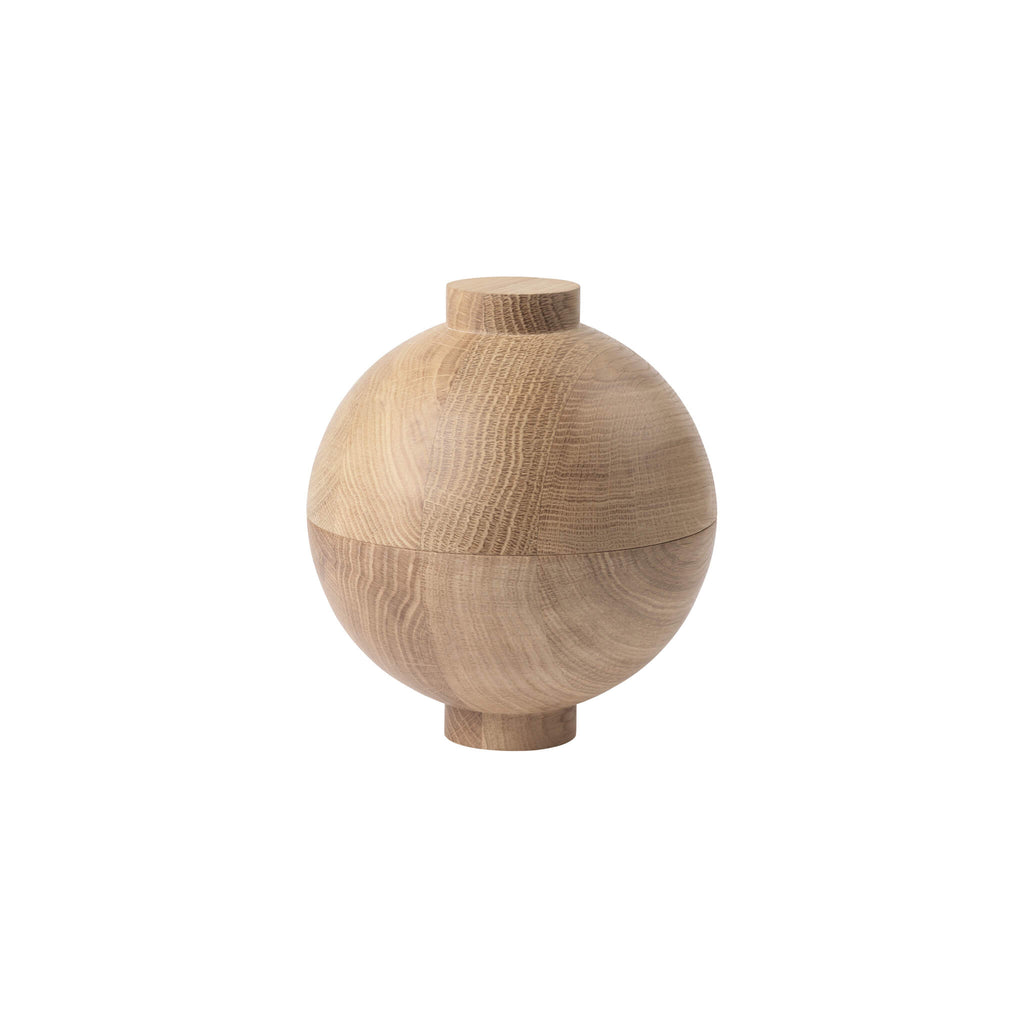 XL wooden sphere best selling design Kristina Dam buy