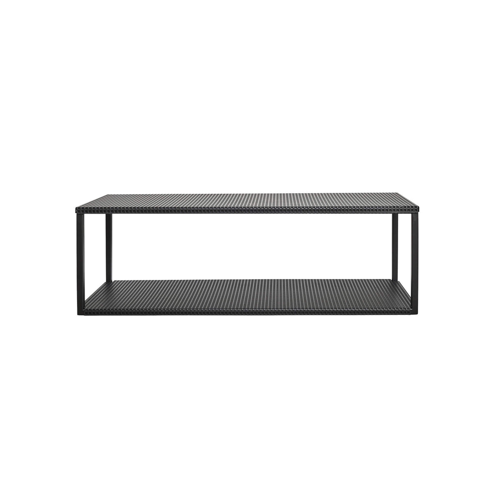 kristina dam studio grid wall shelf black shop