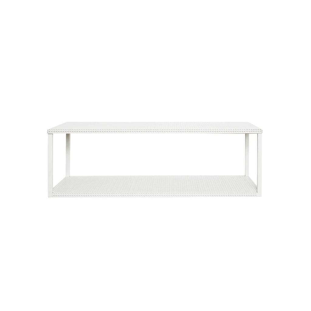 kristina dam studio white grid wall shelf buy online