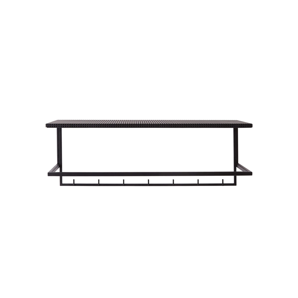 kristina dam studio grid coat rack black shop online