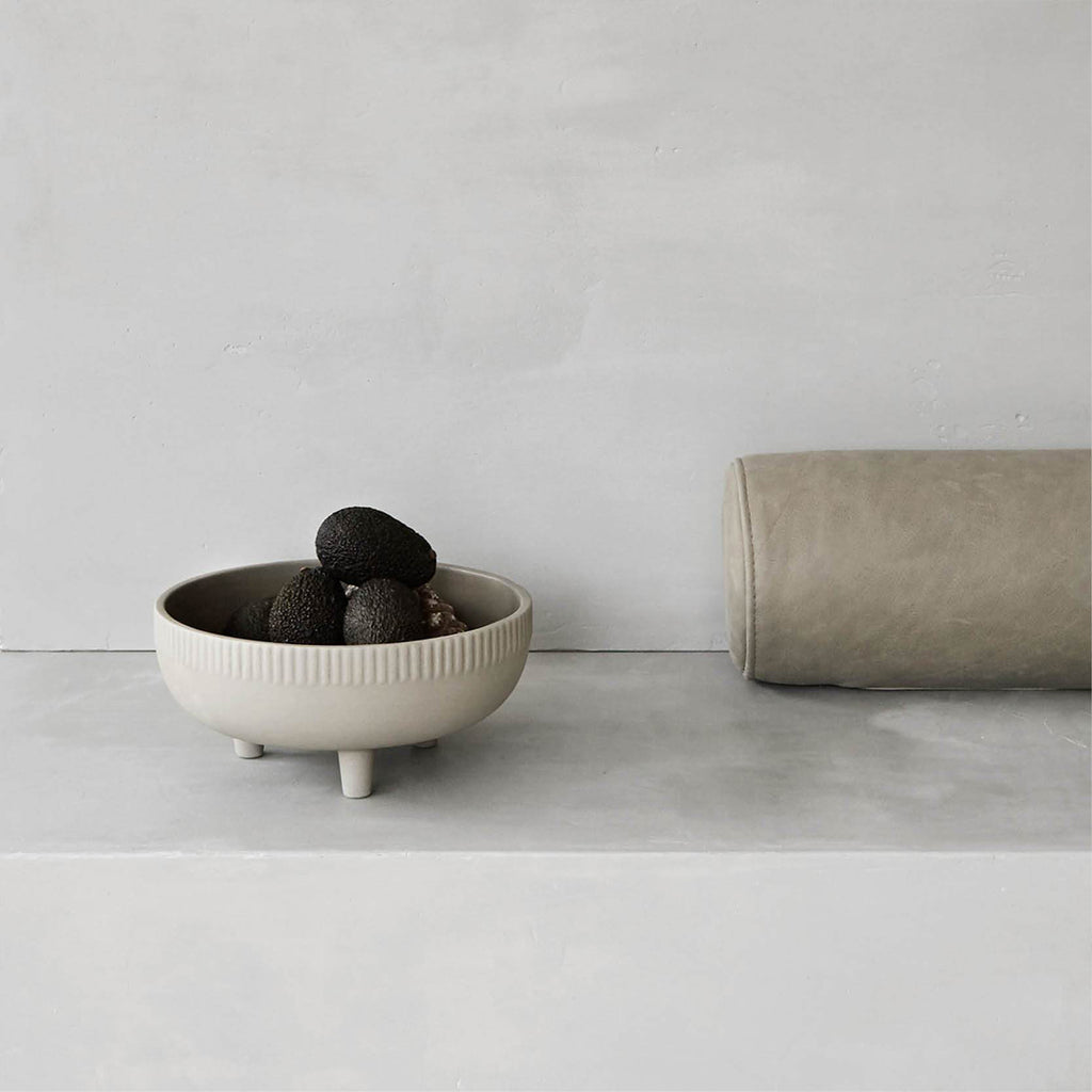 terracotta bowl for fruits by Kristina Dam studio