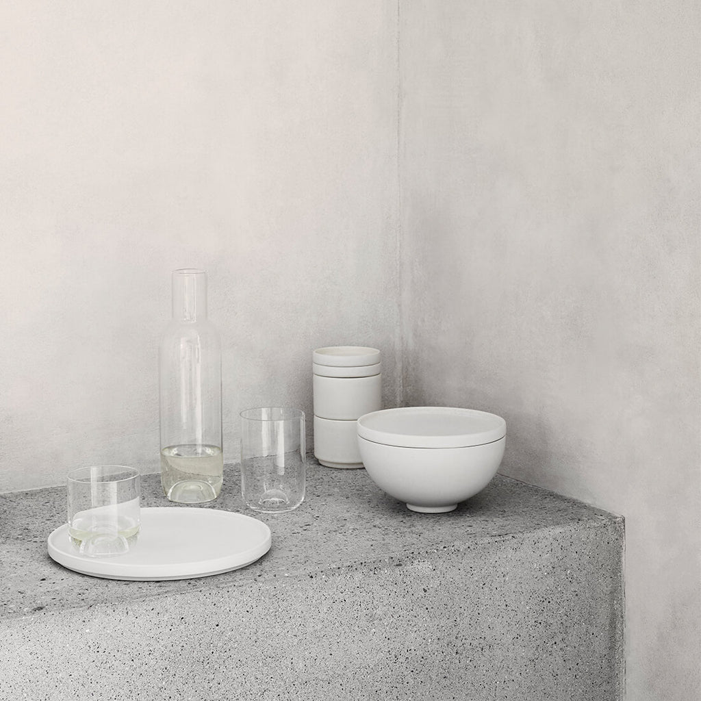 Danish design exlusive tableware and glass collection by kristina dam studio