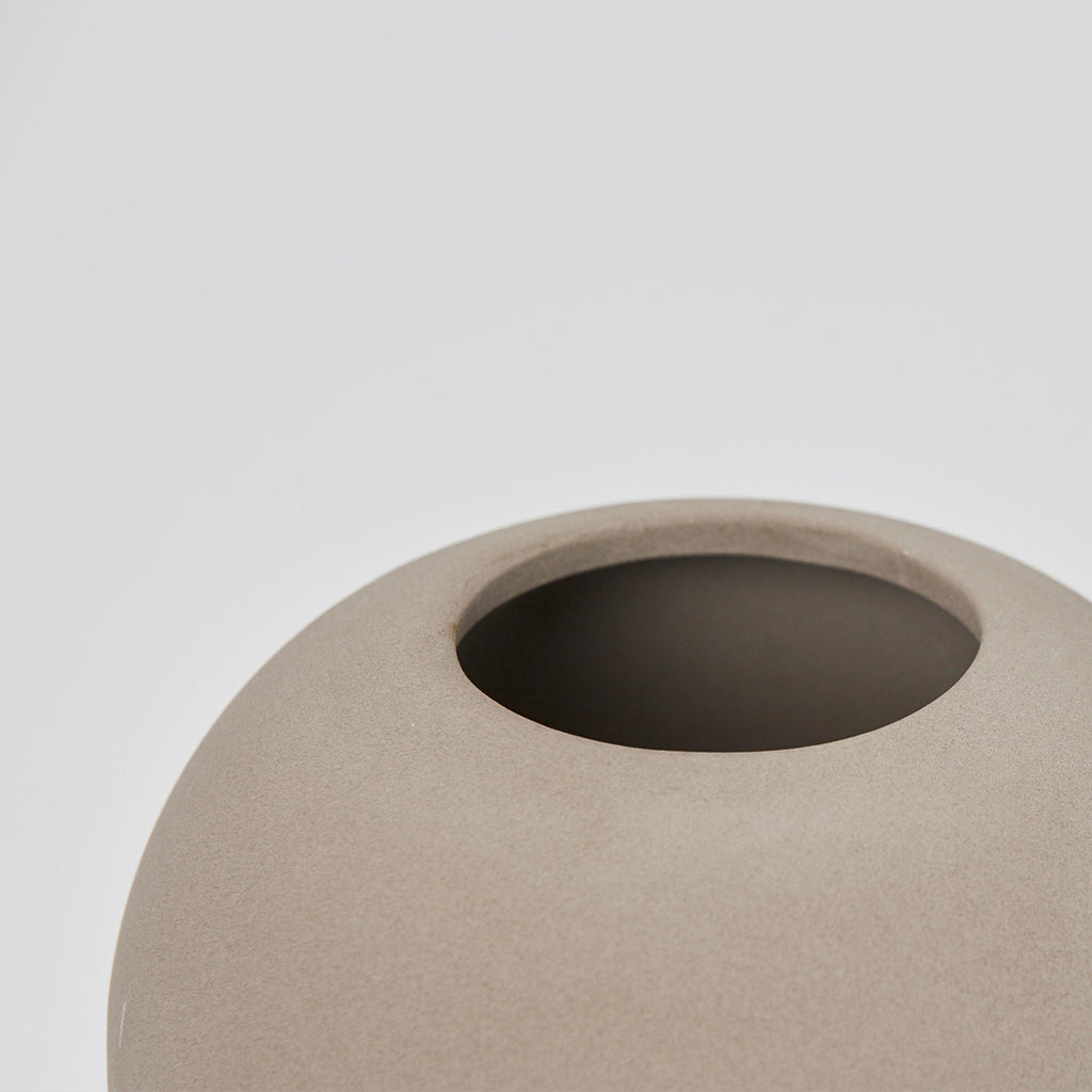 Details of medium Dome vase designed by Kristina Dam studio