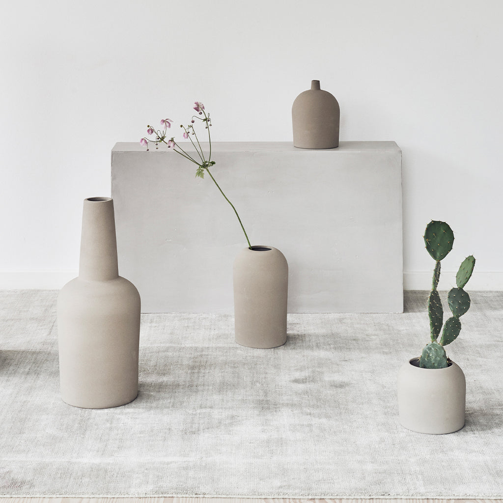 nordic designed sculptural Dome vases by Kristina Dam studio