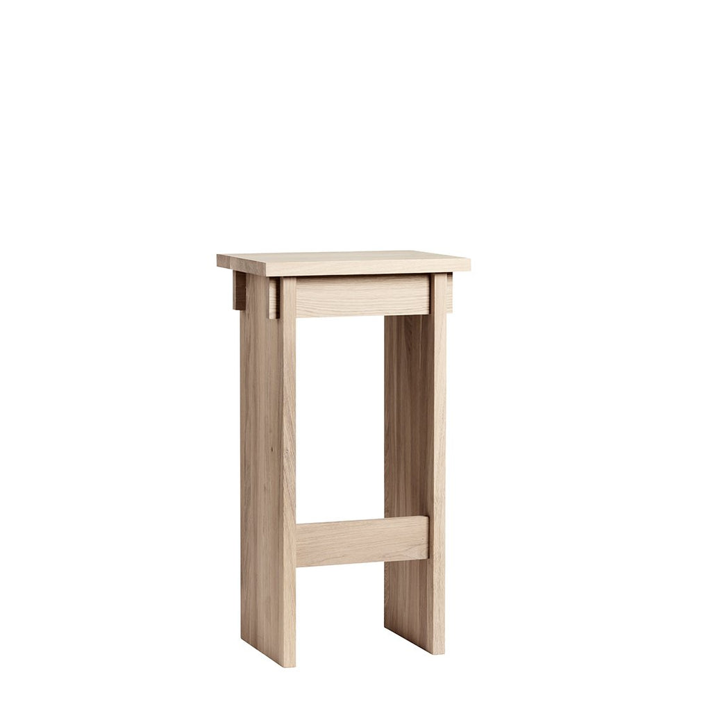 Kristina Dam Japanese stool tall oak