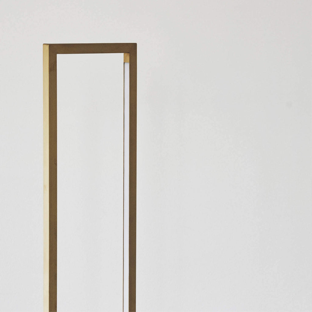 lamp design brass floor cylinder kristina dam studio