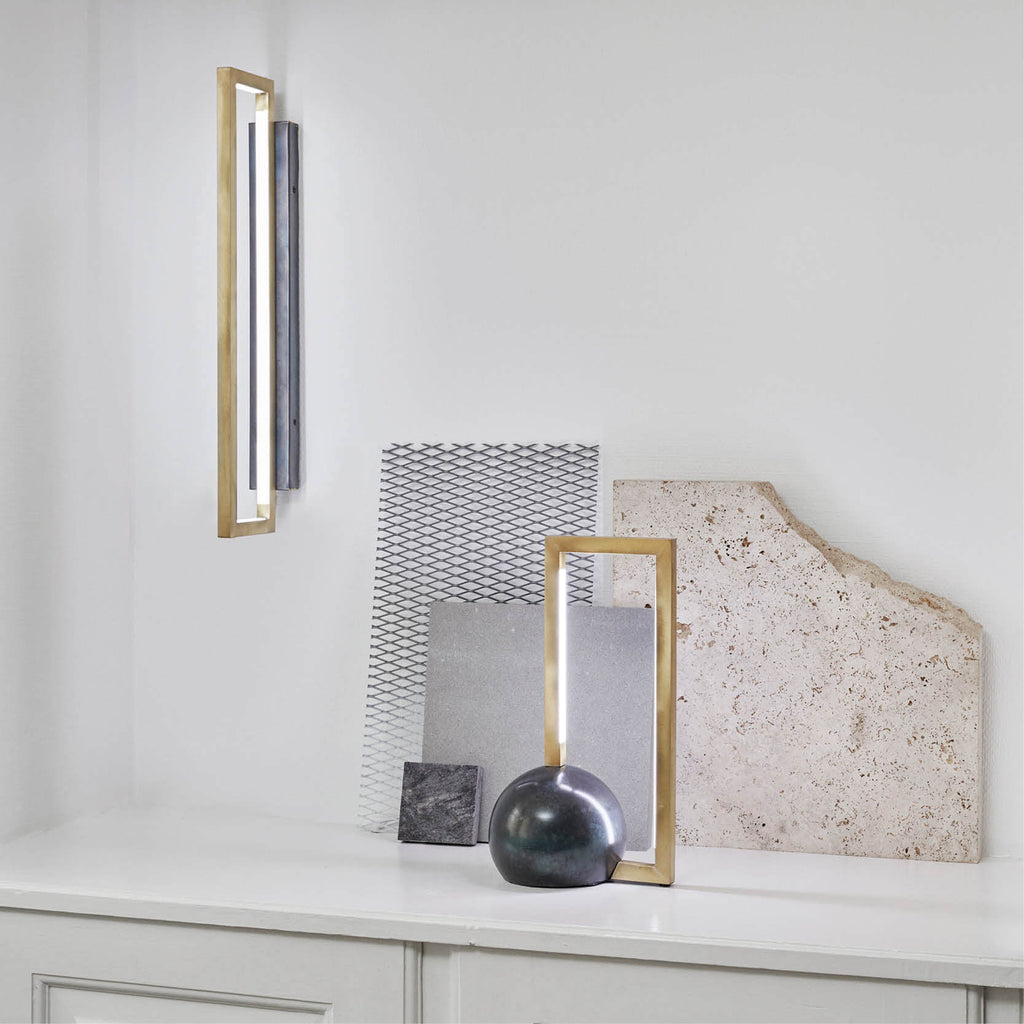 lamp design ideas rectangle lamp kristina dam studio