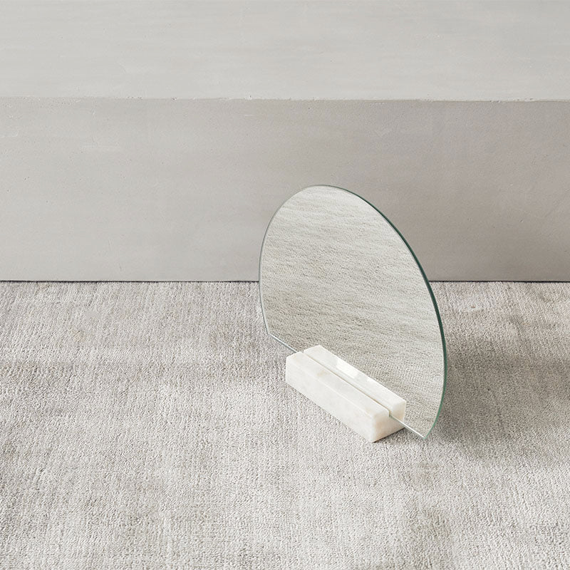 decoration half moon mirror danish design kristina dam