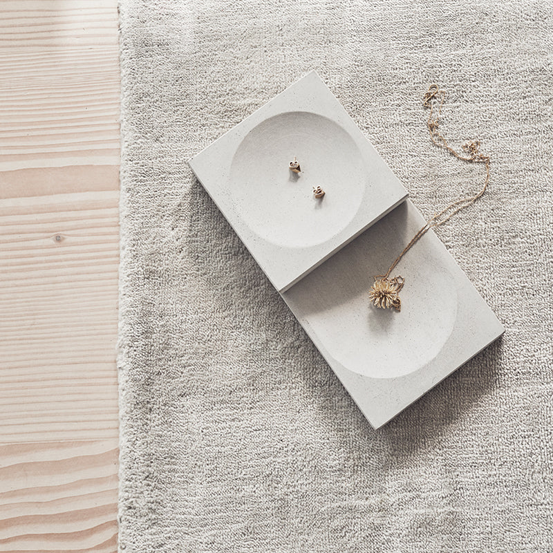 buy danish design tray concrete kristina dam
