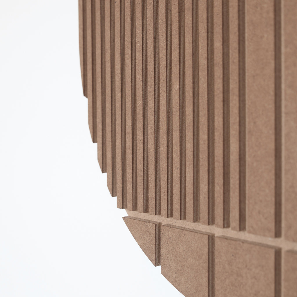 Beautiful details of Relief Mask wall decoration by Kristina Dam studio